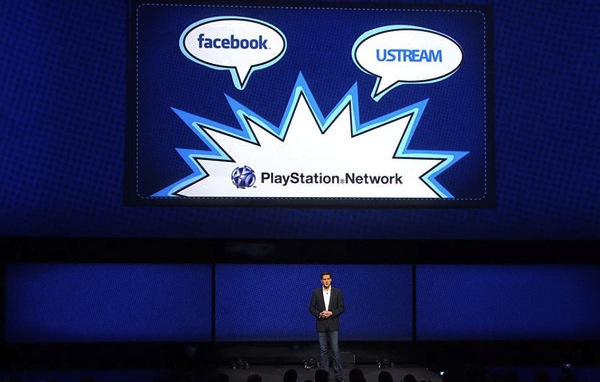 PlayStation 4 Facebook Ustream