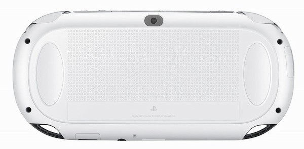 Crystal White PS Vita back