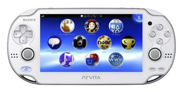 Crystal White PS Vita