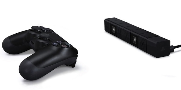 PlayStation 4 Eye and DualShock 4
