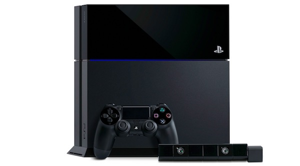 PlayStation 4 official design