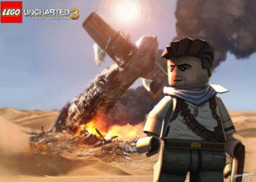 Nathan Drake, czyli Uncharted z klocków lego