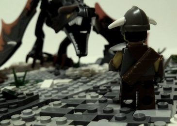 The Elder Scrolls V: Skyrim z klocków lego