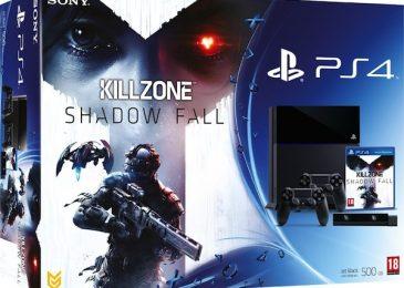PlayStation 4 tylko w zestawie z kamerką, dwoma padami i grą (za 499 euro)