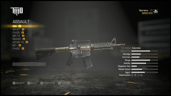 Army of TWO The Devils Cartel gun
