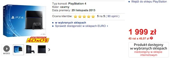 sklep-euro-rtv-agd-playstation-4