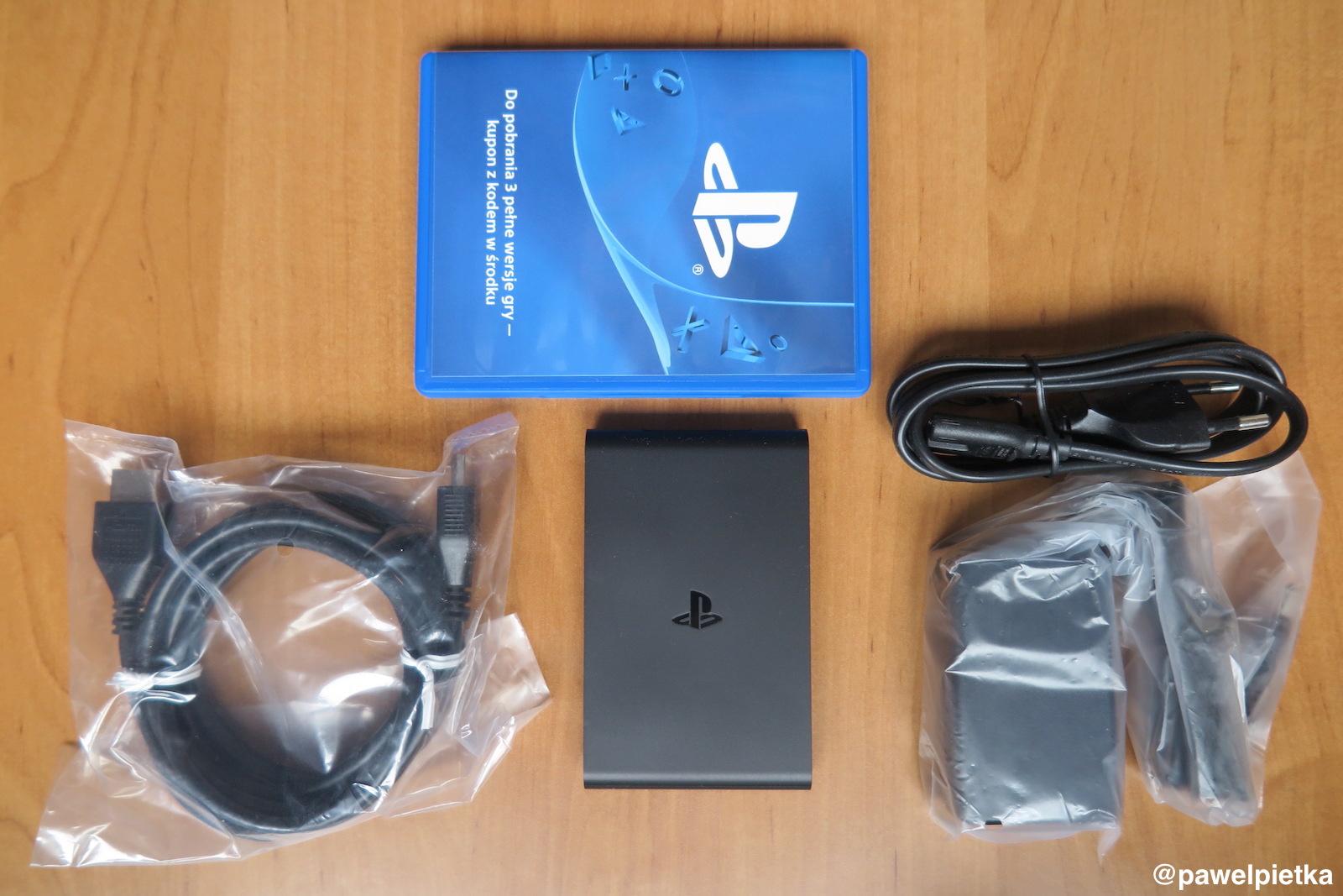 PlayStation TV Vita zawartosc pudelka